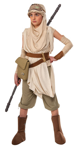 REY PREMIUM STAR WARS COSTUME, CHILD, SIZE 6-8