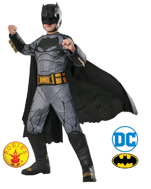 BATMAN PREMIUM DAWN OF JUSTICE COSTUME, CHILD - SIZE 3-5