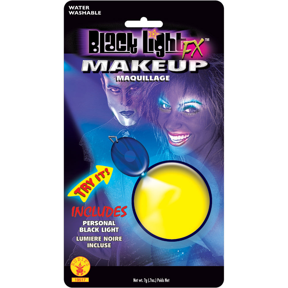 BLACK LIGHT FX YELLOW GLOW MAKEUP
