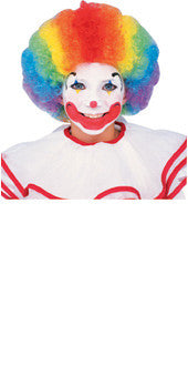 CLOWN MULTI COLOUR WIG, ADULT