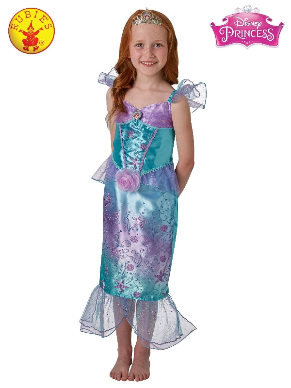 ARIEL DISNEY RAINBOW COSTUME, CHILD - VARIOUS SIZES