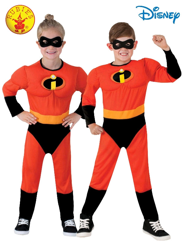 INCREDIBLES 2 JUMPSUIT COSTUME, CHILD - SIZE 6-8
