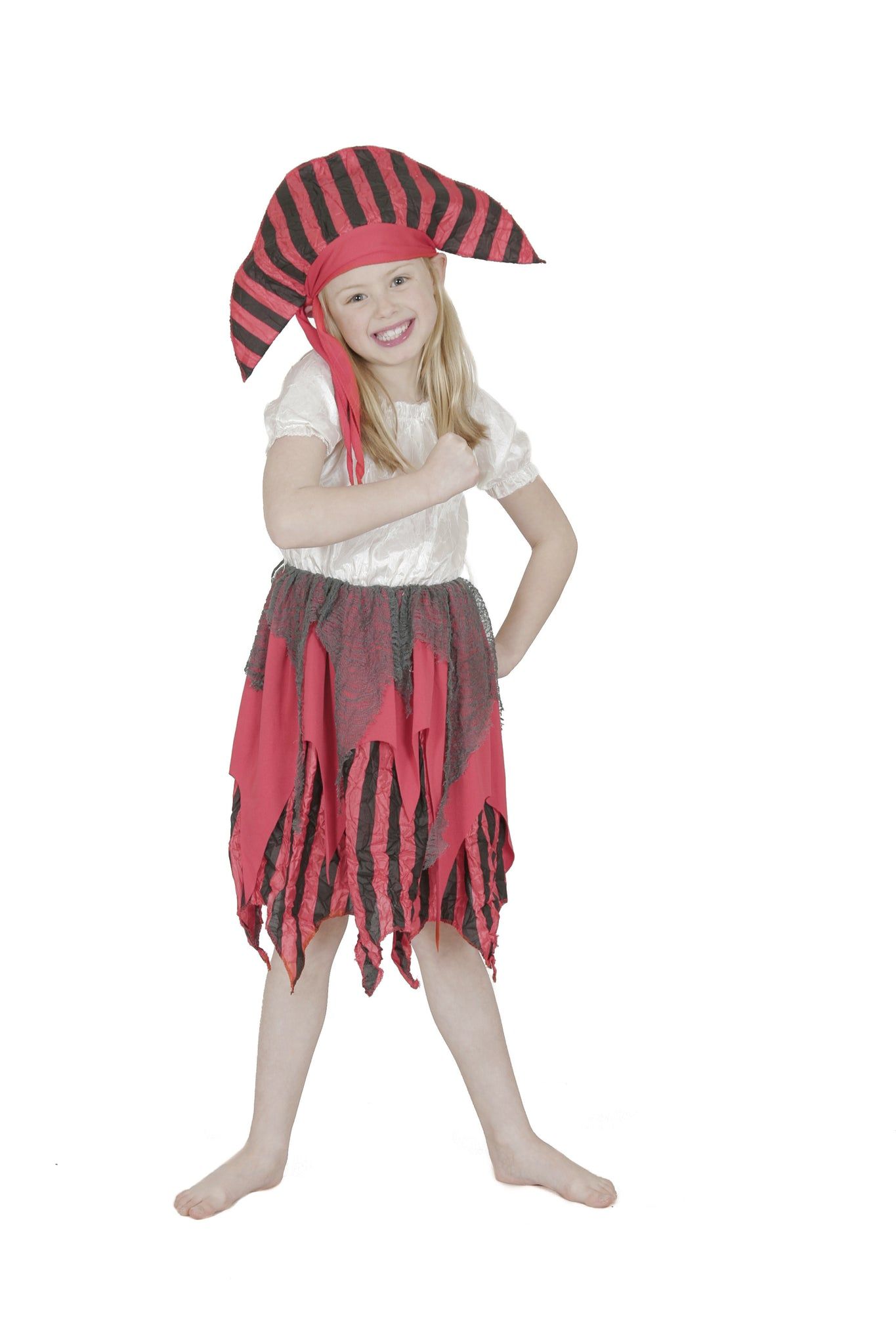 DECKHAND PIRATE CHILD COSTUME - SIZE 3-5