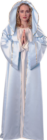 VIRGIN MARY RELIGIOUS COSTUME, ADULT - SIZE STD