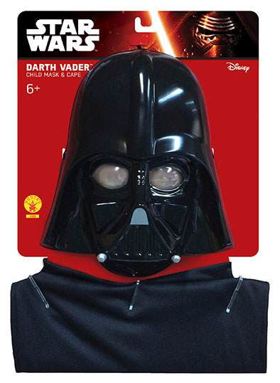 DARTH VADER CAPE AND MASK CHILD