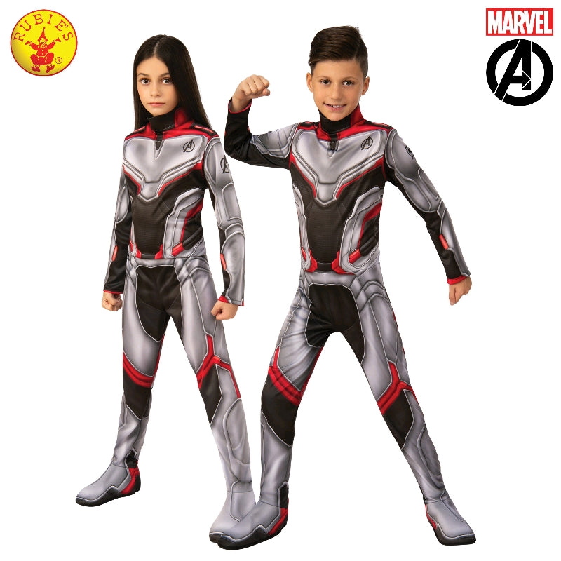 AVENGERS 4 UNISEX COSTUME, CHILD - SIZE 6-8