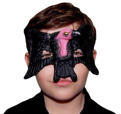 Rubber Eye Mask - Vulture