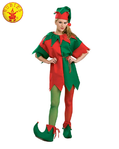 ELF ADULT COSTUME (BOXED SET), SIZE - STD