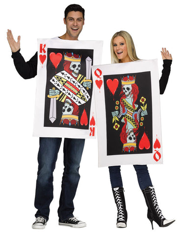 Couple Costume - King & Queen of Hearts