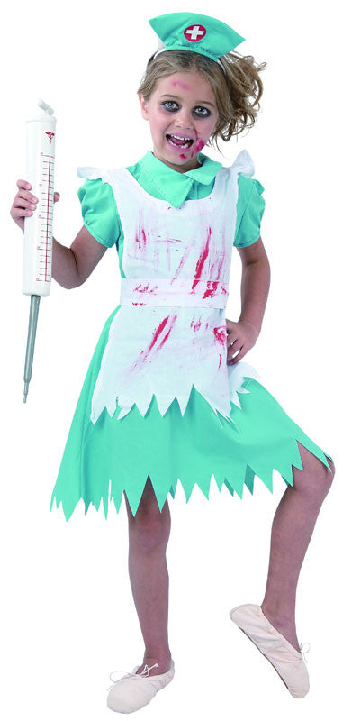 Blood Splattered Nurse - Child - Large