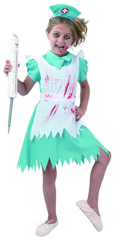 Blood Splattered Nurse - Child - Medium