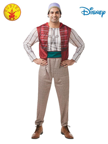 ALADDIN DISNEY COSTUME, ADULT - SIZE XL
