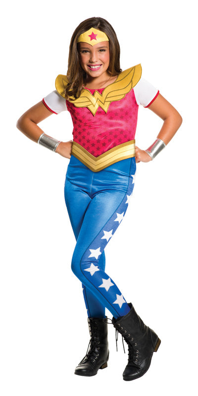 WONDER WOMAN DC SUPERHERO GIRLS CLASSIC, CHILD - SIZE 6-8