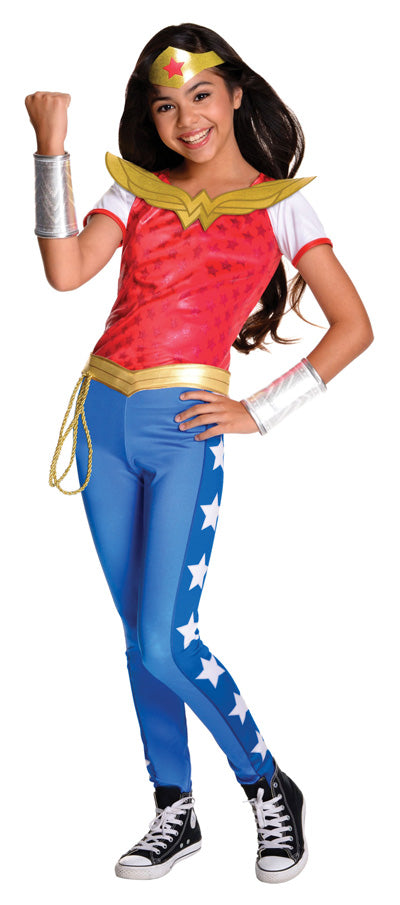 WONDER WOMAN DC SUPERHERO DELUXE, CHILD - SIZE 3-5