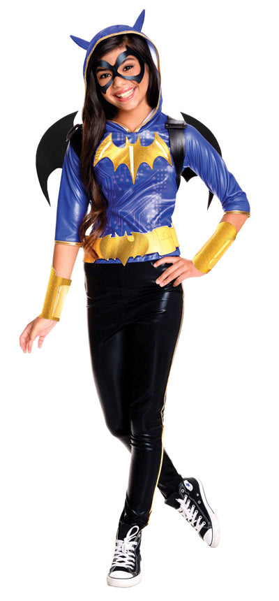 BATGIRL DC DELUXE COSTUME, CHILD - SIZE 6-8
