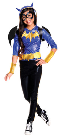 BATGIRL DC DELUXE COSTUME, CHILD - SIZE 9-12