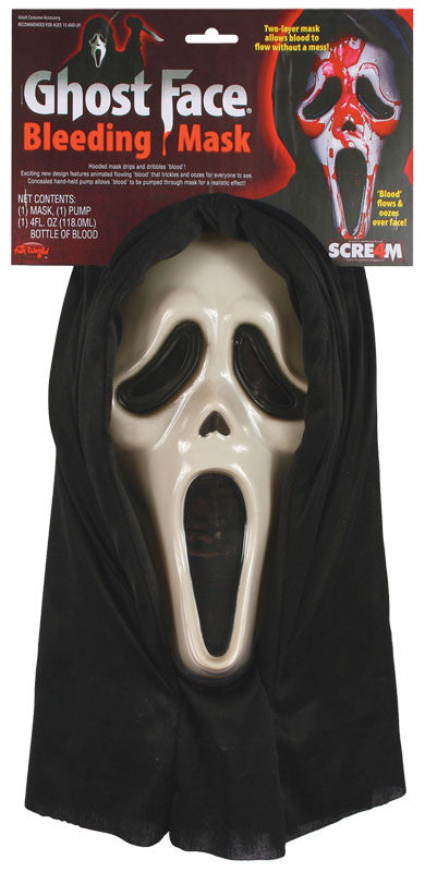 Bleeding Scream Ghost Face Mask