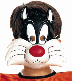 SYLVESTER CAT PVC MASK, ADULT