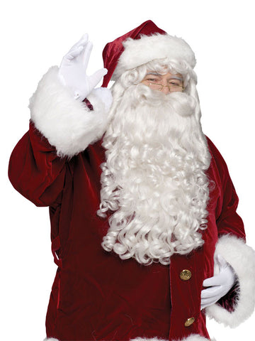 Professional Santa Wig & Beard Set
