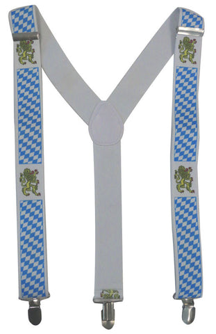 Stretch Braces/Suspenders - Oktoberfest