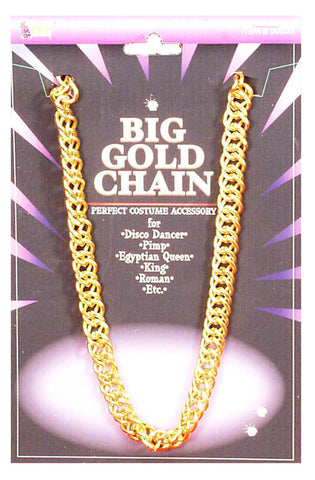 Big Gold Pimp Chain - 100cm