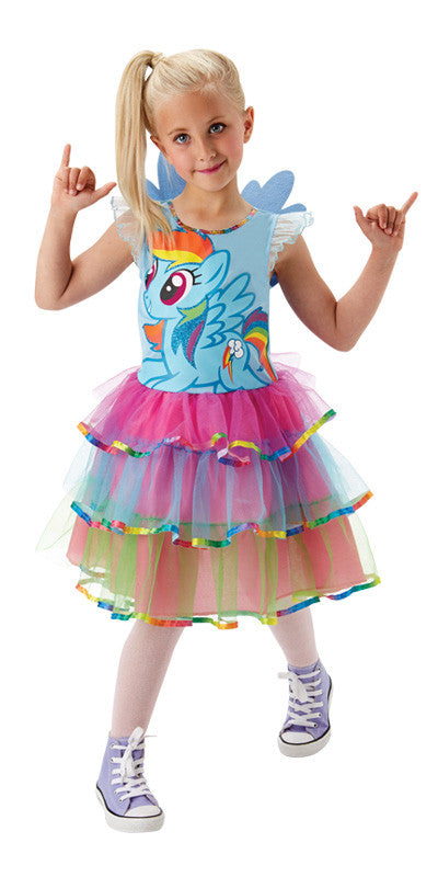 RAINBOW DASH MY LITTLE PONY DELUXE COSTUME, CHILD - SIZE 3-5