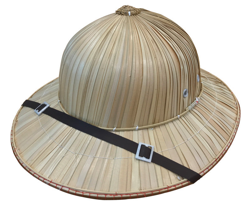 NATURAL FIBRE SAFARI HAT, ADULT SIZE