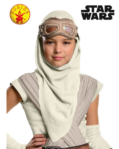 REY EYE STAR WARS MASK WITH HOOD, CHILD - SIZE STD