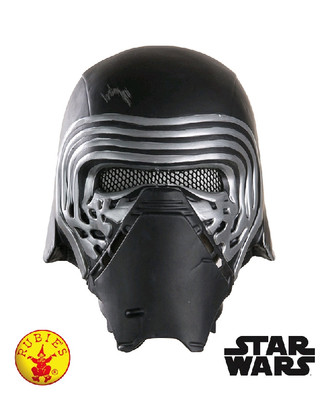 KYLO REN STAR WARS 1/2 MASK - ADULT SIZE