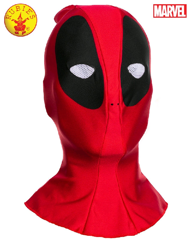 DEADPOOL FABRIC MASK, ADULT - SIZE STD