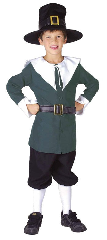 Colonial Boy Costume - Child Large