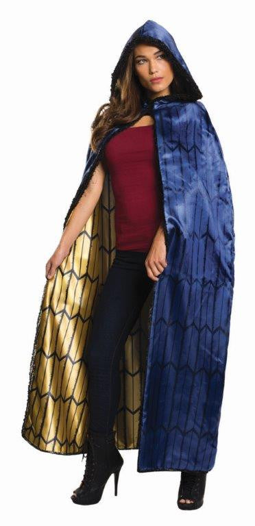 WONDER WOMAN DELUXE SUPERHERO CAPE, ADULT SIZE