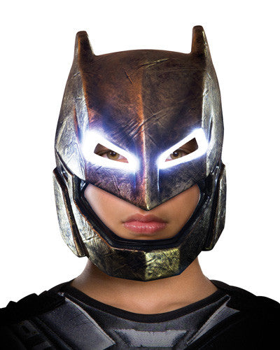 BATMAN LIGHT UP ARMOURED MASK ADULT