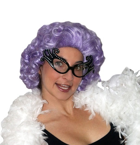 Deluxe Dame Edna Wig, Adult Size