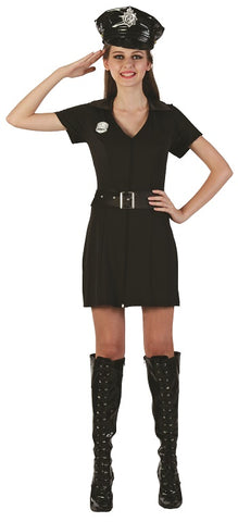Police Lady - Adult Large