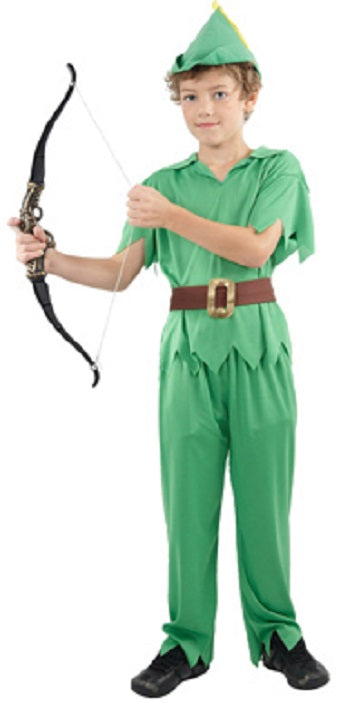 PETER PAN COSTUME, CHILD - SIZE M