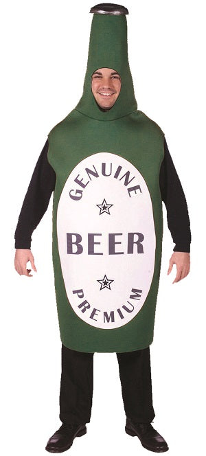 Beer Bottle Mascot - Green