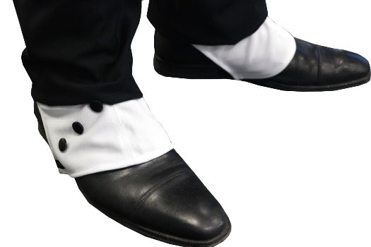 1920's Deluxe Gangster Shoe Spats