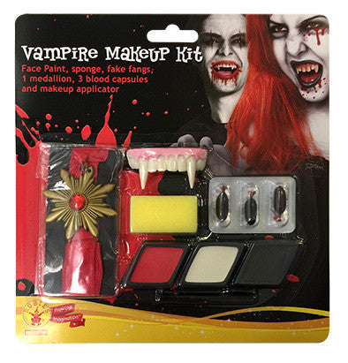 VAMPIRE MALE MAKE UP KIT, ADULT