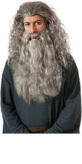 GANDALF WIG AND BEARD KIT, ADULT SIZE