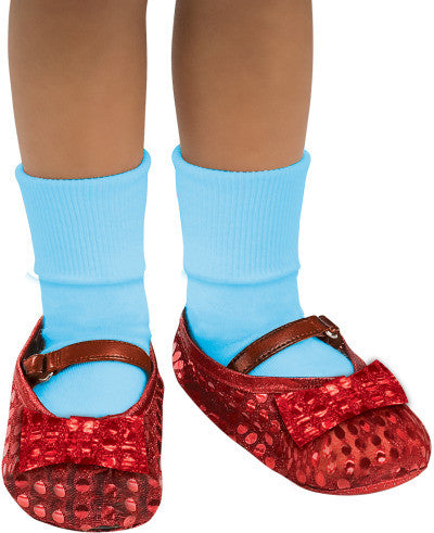 DOROTHY SEQUIN SHOE COVERS, CHILD SIZE