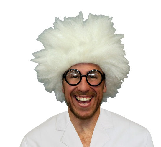Deluxe Mad Scientist Wig