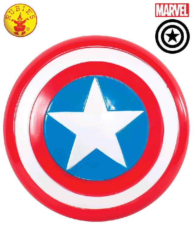 CAPTAIN AMERICA SHIELD 30CM - CHILD SIZE