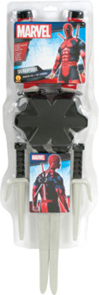 DEADPOOL SUPERHERO WEAPON KIT, ADULT SIZE