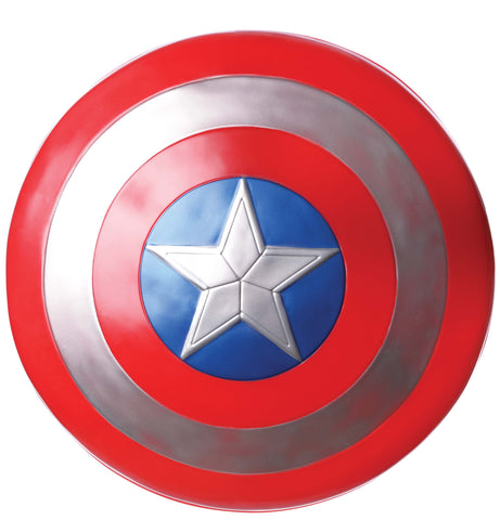 CAPTAIN AMERICA SHIELD 61CM, ADULT SIZE