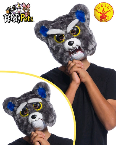SAMMY SUCKERPUNCH DOG MASK, CHILD SIZE