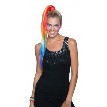 Rainbow Ponytail