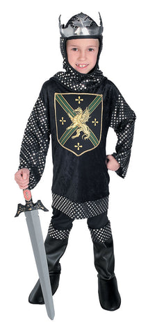 WARRIOR KING KNIGHT COSTUME, CHILD - SIZE L