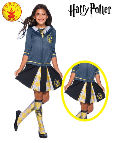 HUFFLEPUFF COSTUME SKIRT, CHILD