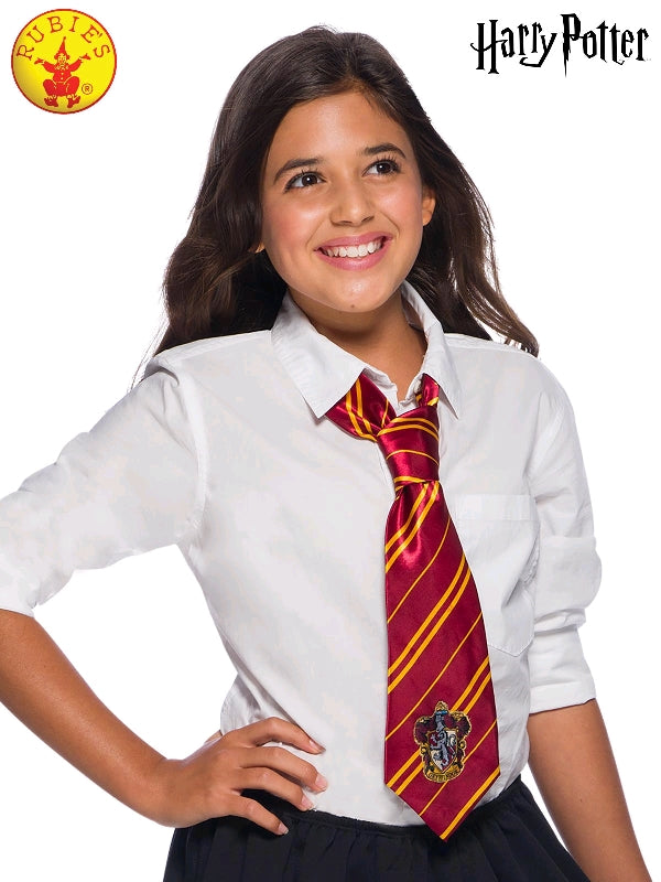 GRYFFINDOR HARRY POTTER TIE, CHILD SIZE